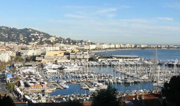 Visite de Cannes …