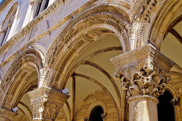 architecture croatie
